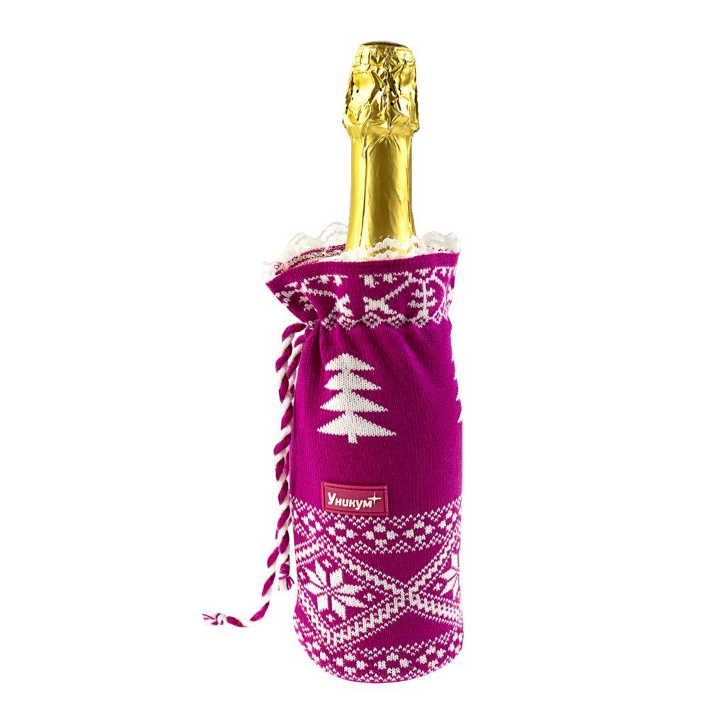 Чехлы для бутылок своими руками