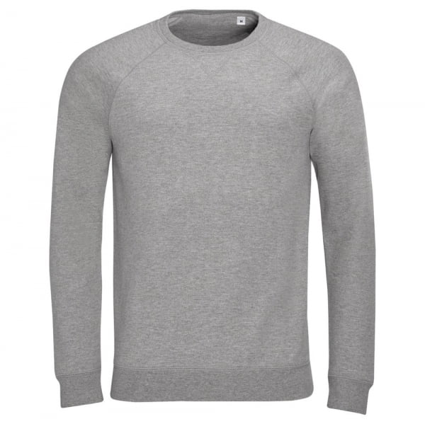 b1375e1eeae23 Толстовка STUDIO MEN темно-серый меланж купить с нанесением логотипа оптом  на заказ в интернет-магазине ...