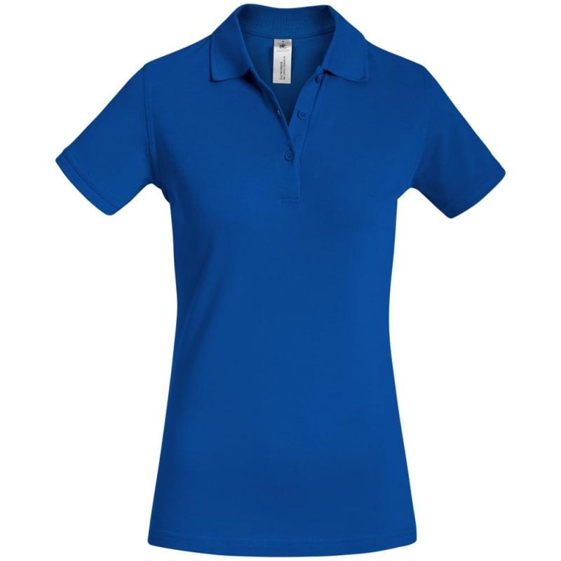 cfea9913585 Рубашка поло женская Safran Timeless ярко-синяя купить с нанесением логотипа  оптом на заказ в интернет-магазине ...